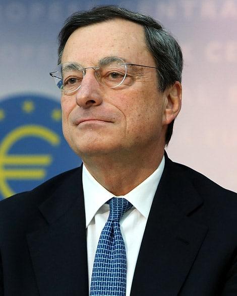 Bce, Mario Draghi: