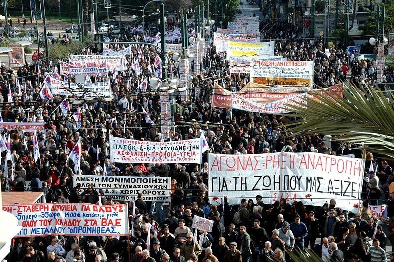 Grecia: sciopero contro le riforme. Creditori pronti alla stangata finale