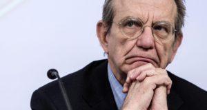 pier carlo padoan dichiarazioni euro