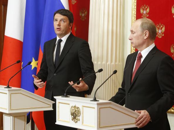 Russia: 16-18 Giugno Renzi incontra Putin per l'ennesima missione diplomatica