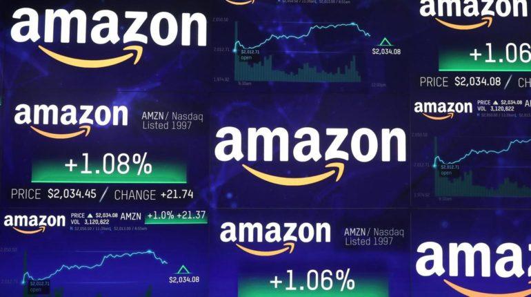 Azioni Amazon calo degli utili